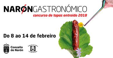 Narón Gastronómico, 2018